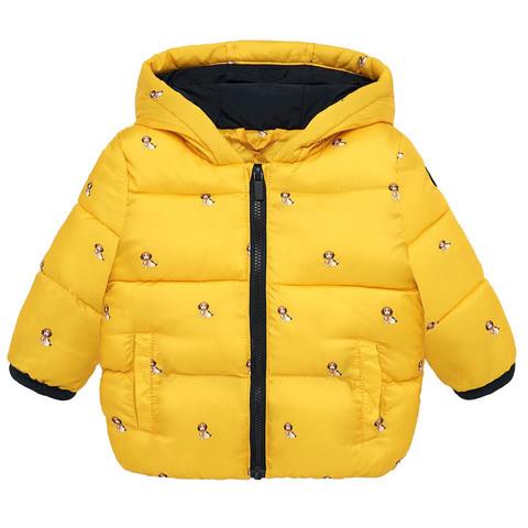 Куртка Mayoral Желтые собачки Еврозима