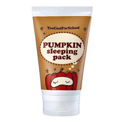 Too cool for school - Тыквенная маска Pumkin Sleeping Pack, 100 ml