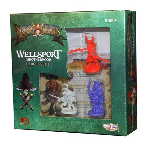 Wellsport Brotherhood Hero Set # 1