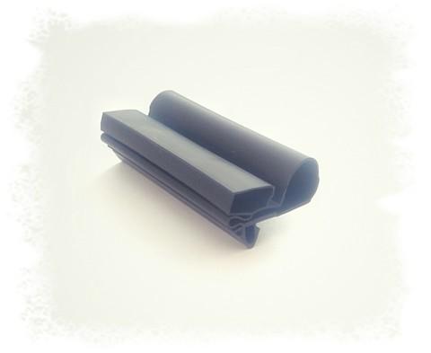 Уплотнитель для торгового холодильного шкафа Norcool S76.Размер 161*58,5 см Профиль 005