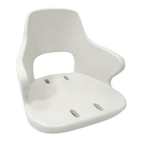 Сиденье пластмассовое YACHTSMAN 2, белое