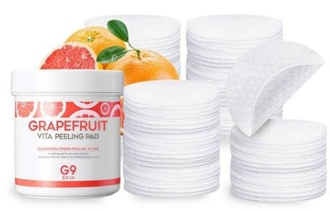 G9SKIN Grapefruit Vita Peeling Pad Grapefruit Ватные диски для пилинга