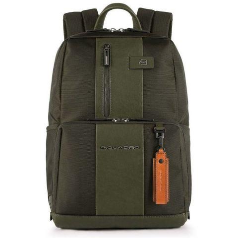 Рюкзак Piquadro Brief (CA3214BR/VE) зеленый кожа/ткань