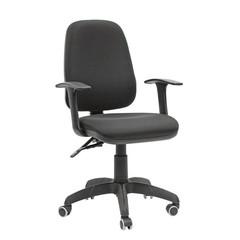 Кресло VT_CH661 пластик, ткань черная 30-21 (15-21)