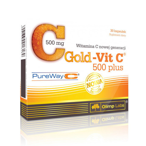 Gold-Vit C 500 Plus