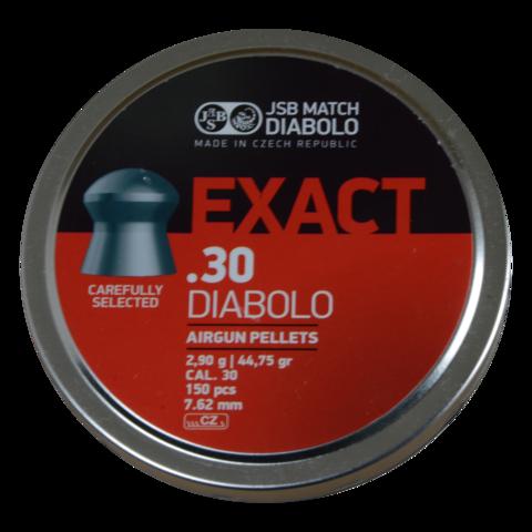 Пульки JSB Exact Diabolo 7.62 мм (2,90 г, 150 шт.)