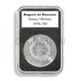 Прямоугольные капсулы EVERSLAB для монеты диаметром 14 mm