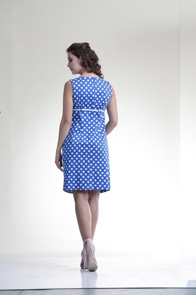 Платье для беременных 06198 горох