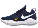 Кроссовки Мужские Nike Zoom PG 1 Navy White