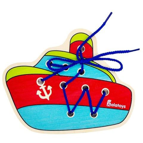 Шнуровка Alatoys Кораблик ШН39