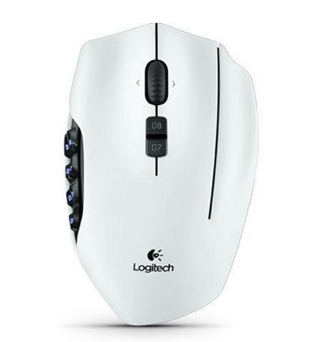 logitech g600 white
