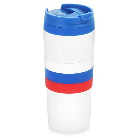 Термокружка LaPlaya Tricolor Mug (0,38 литра), белая