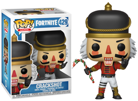 Фигурка Funko POP! Vinyl: Games: Fortnite: POP 5 Crackshot 34977