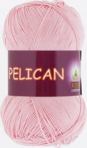 Пряжа Pelican (Vita cotton) 3956 Розовая пудра