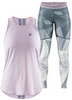 Костюм для бега Craft Lux Singlet Tights Pink женский