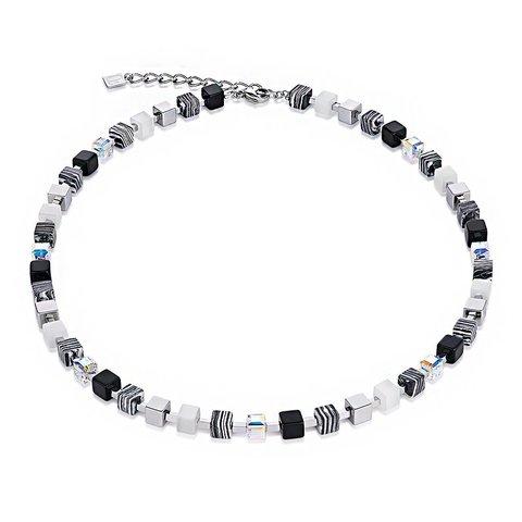 Колье Black-White 4882/10-1314
