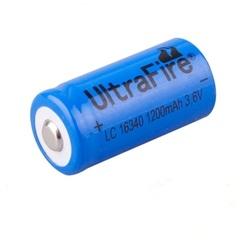 Аккумулятор 16340 Ultrafire 3.7V 1200mAh