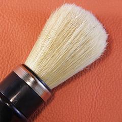 кисть: щетина кабана  ручка: пластик цвет хром