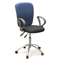 Кресло VT_CH9801 ткань комбинир,крестов серебро 30-13/30-41 (15-13/15-41)