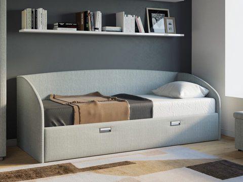 Кровать Bono Орматек глазго серый