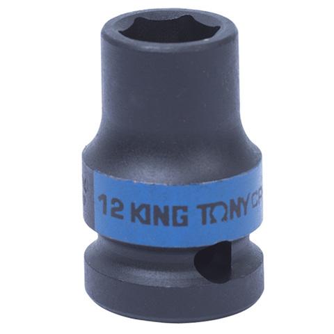 KING TONY (453512M) Головка торцевая ударная шестигранная 1/2