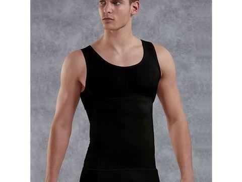 Мужская майка- корсет plus-size  Doreanse 5950P черная