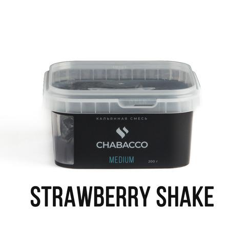 Чайная смесь Chabacco Medium 200 г - Strawberry Shake (Клубничный шейк)