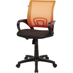 Кресло VT_EChair-304 TC Net ткань черн/сетка оранж, пластик