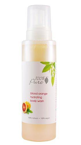 Гель для душа Красный апельсин, 100% Pure
