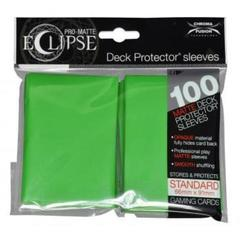 UP Sleeves PRO-Matte Eclipse Lime Green
