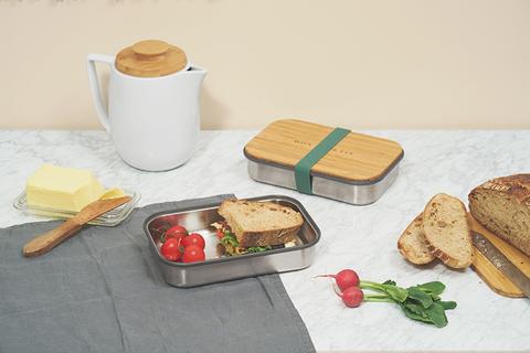 Сэндвич-бокс оливковый