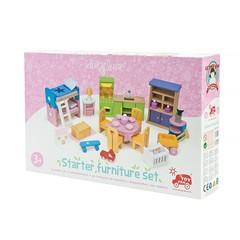 Кукольная мебель Базовый набор Премиум, 35 предметов, Le Toy Van