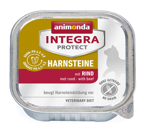 Animonda Integra Protect Cat (ламистер) Harnsteine (URINARY) with Beef