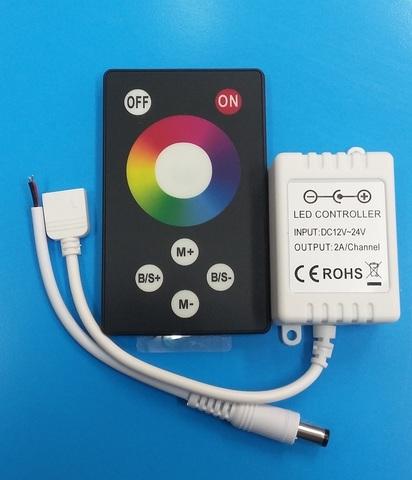 Контроллер RGB 12V. 72W. 6A с сенсорным пультом