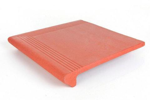 Esquina Degrau Florentino/Step Corner Red угловая ступень 34х34см красный