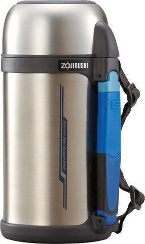 Термос универсальный (для еды и напитков) Zojirushi (2 литра), стальной