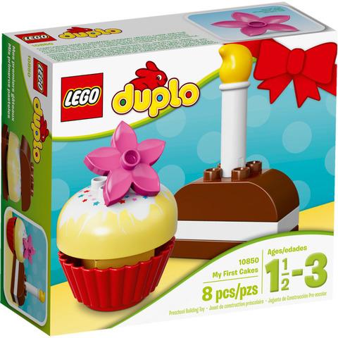 LEGO Duplo: Мои первые пирожные 10850 — My First Cakes — Лего Дупло