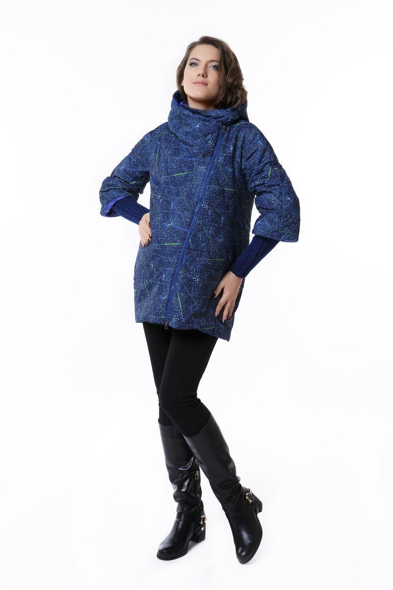 Куртка для беременных 04847 синий