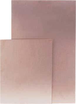 Фольгированный стеклотекстолит односторонний 200 х 300 мм. Толщина диэлектрика. 2,0 мм.