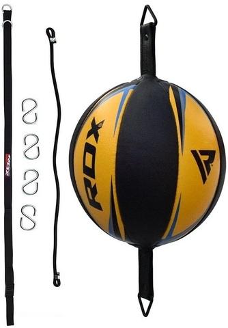 Груша RDX Leather Double End Dodge Speed Ball Yellow