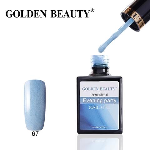 Гель лак Golden Beauty  14 ml, Evening Party