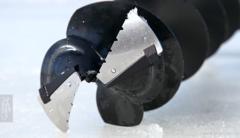 Сменные зубчатые ножи MORA ICE для шнека Power Drill 200 мм (с болтами для крепления ножей), 20591