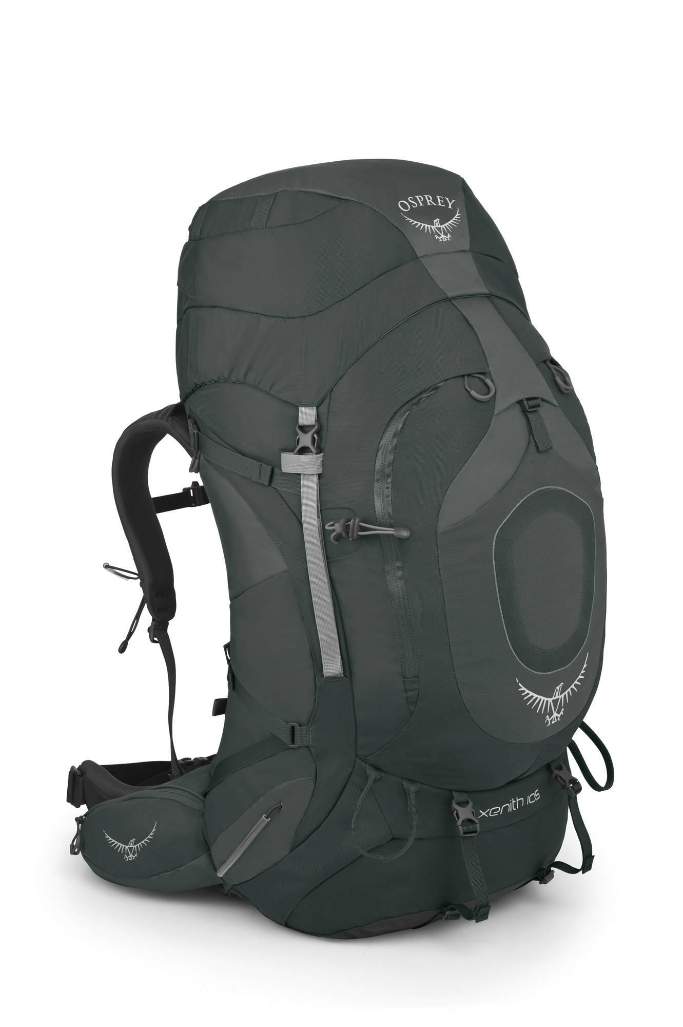 Туристические рюкзаки Рюкзак туристический Osprey Xenith 105 Xenith_105_Side_Graphite_Grey_web.jpg