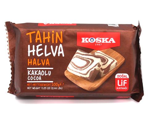 Кунжутная халва с какао, Koska, 200 г