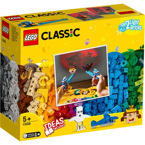 LEGO Classic: Кубики и освещение 11009 — Bricks and Lights — Лего Классик
