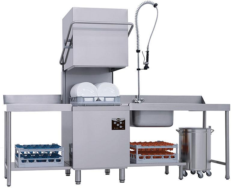 фото 1 Купольная посудомоечная машина Apach AC800 на profcook.ru