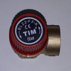 Мембранный предохранительный клапан TIM