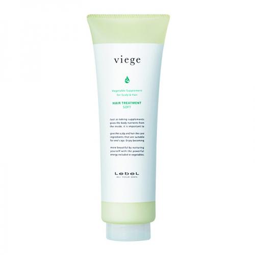 Lebel Viege Treatment SOFT - Маска для глубокого увлажнения волос