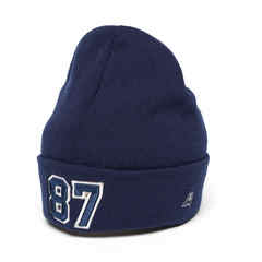 Шапка №87 синяя