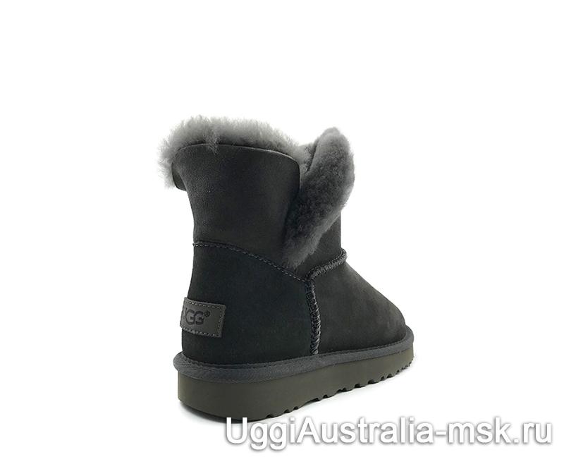 UGG Women's Classic Mini Cuff Boot Grey